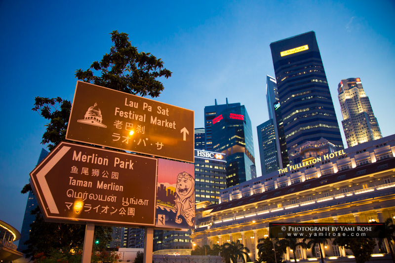 To Merlion Park