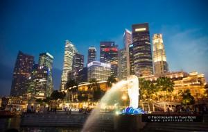 Merlion Park แวะมาดูสิงโตพ่นน้ำ สัญลักษณ์ของสิงคโปร์