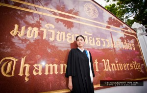 K.Pueng at Thammasat University