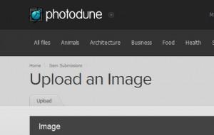 การอัพโหลดภาพไปขายที่ PhotoDune