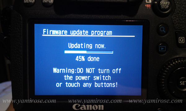 update firmware canon eos 6d by yami rose
