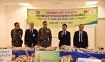 ศุลกากร-ตำรวจ-กรมอุทยาน ตรวจยึดงาช้างลักลอบนำเข้าจากมาลาวี 07.03.2017