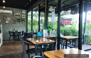 สามยอดคอฟฟี่ อ.เขมราฐ ร้านกาแฟเล็กๆ ที่รสชาติดีมาก 06.04.2017