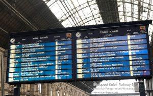 การเดินทางโดยรถไฟจากบูดาเปสท์ไปเวียนนา