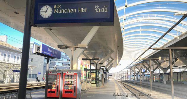 การเดินทางโดยรถไฟจากซัลส์บูร์กไปมิวนิค